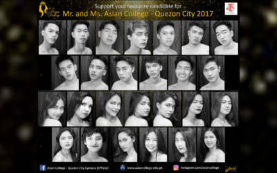 Mr and Ms Asian College 2017