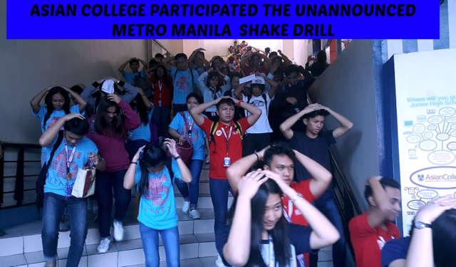 4rth Metro Manila Shake Drill