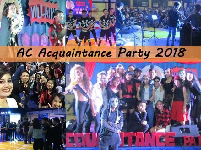 Asian College Acquaintance Party 2018