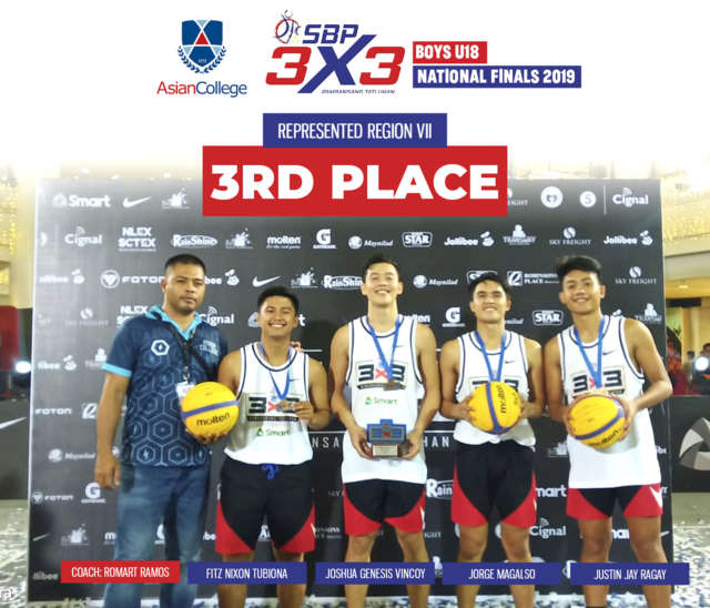Back-to-Back Win: UNIGAMES 2019 x SBP 3X3 Pambansang Tatluhan National Finals 2019